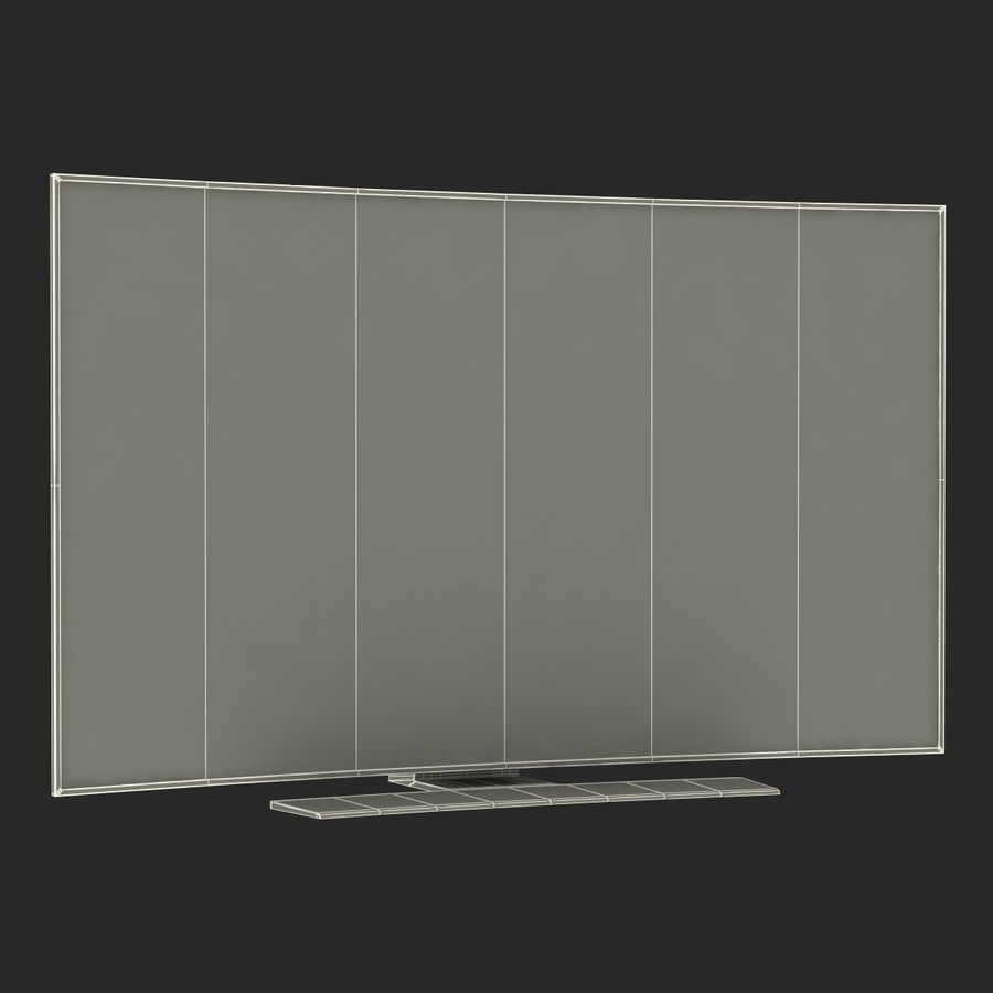 Generic Curved TV 2 royalty-free 3d model - Preview no. 23