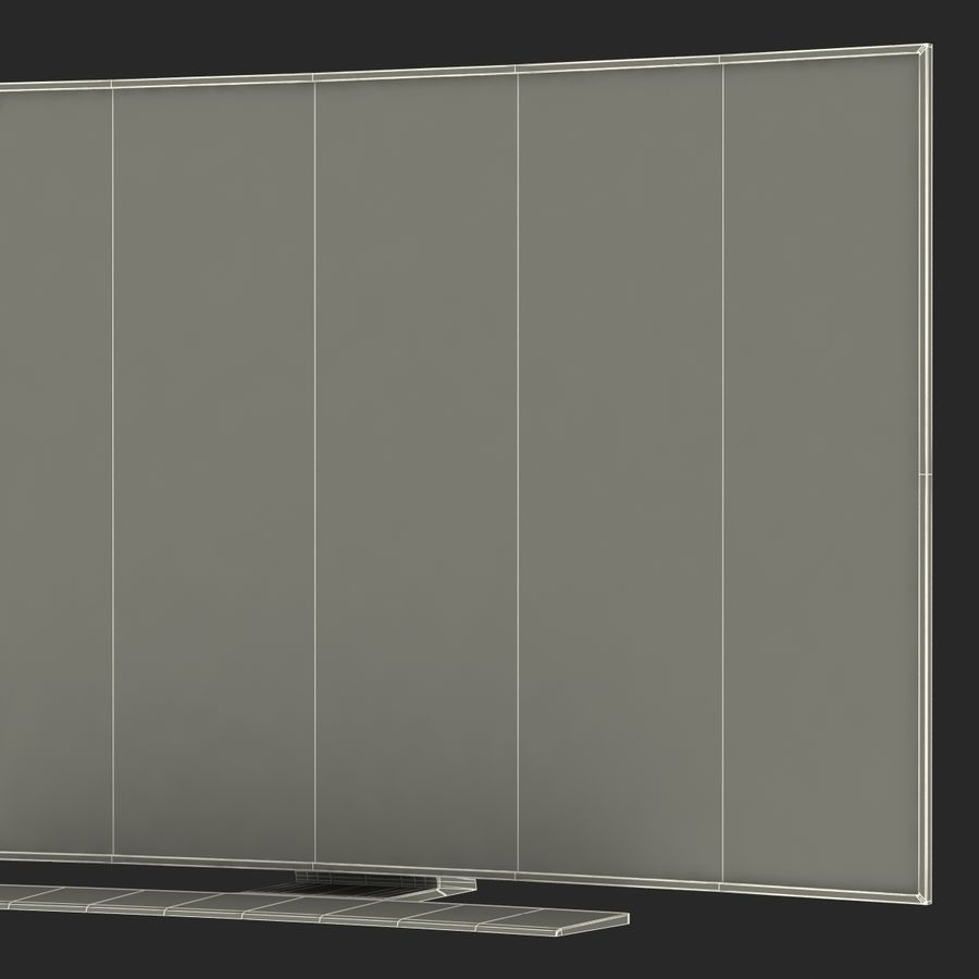 Generic Curved TV 2 royalty-free 3d model - Preview no. 26