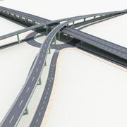Autostrada 04 3d model