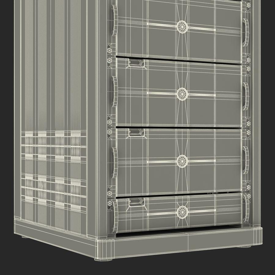 Servidores genéricos no rack 2 royalty-free 3d model - Preview no. 25