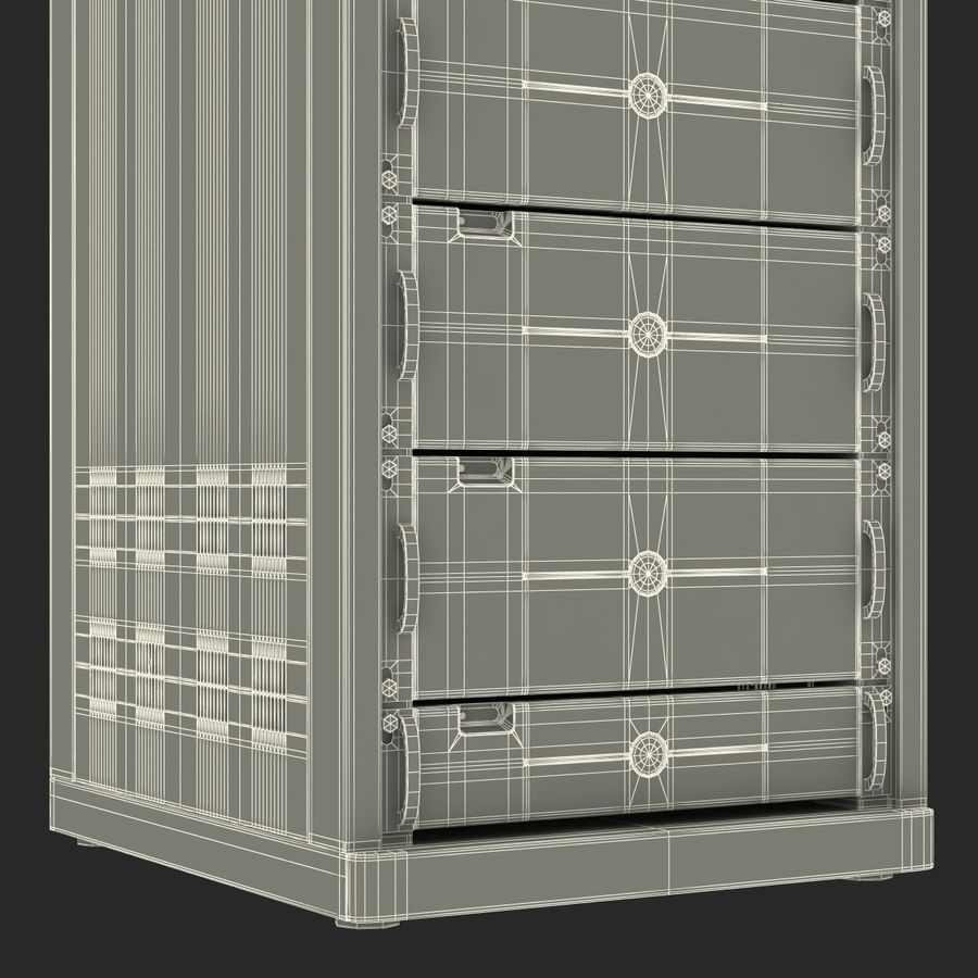Dell Servers in Rack 3D Model royalty-free 3d model - Preview no. 25