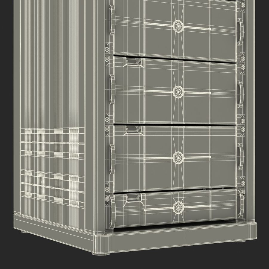 Dell Servers in Rack 3D Model royalty-free 3d model - Preview no. 40