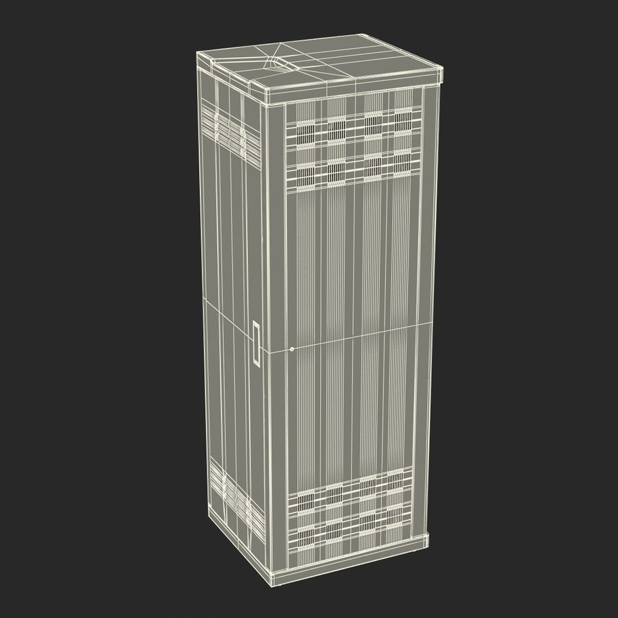 Dell Servers in Rack 2 royalty-free 3d model - Preview no. 22