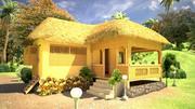 Casa tropicale 3d model