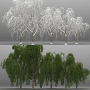 5+5 Willow Trees 3d model