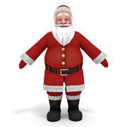 Santa Claus textures 3d model