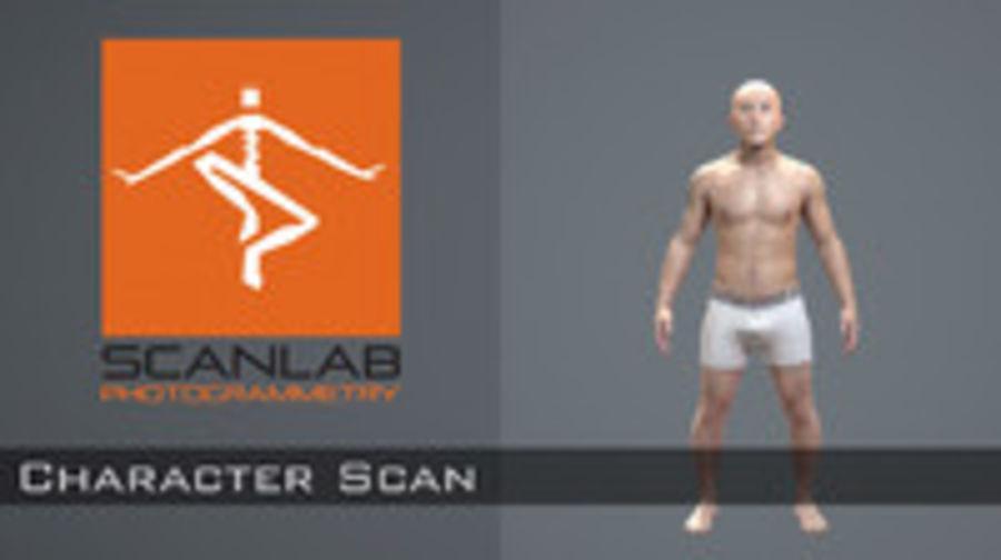 Realistyczne ciało ludzkie - zBrush - Źródło - 156MBody royalty-free 3d model - Preview no. 1