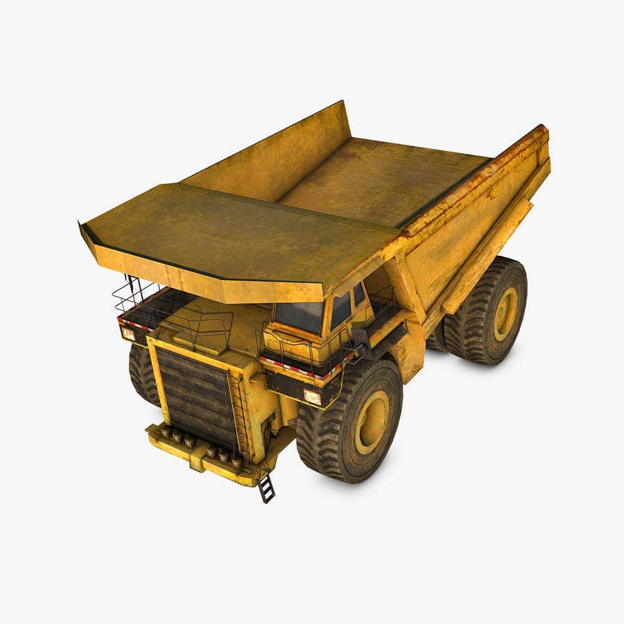 Haul Truck royalty-free 3d model - Preview no. 1