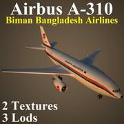 A310 BBA 3d model