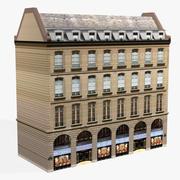 ヨーロッパの建物01 3d model