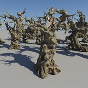 죽은 나무 숲 3d model