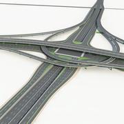 Autobahn 09 3d model