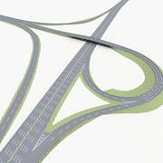 Autostrada 11 3d model