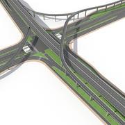 Autostrada 14 3d model