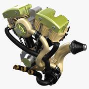 Silnik motocykla 3d model