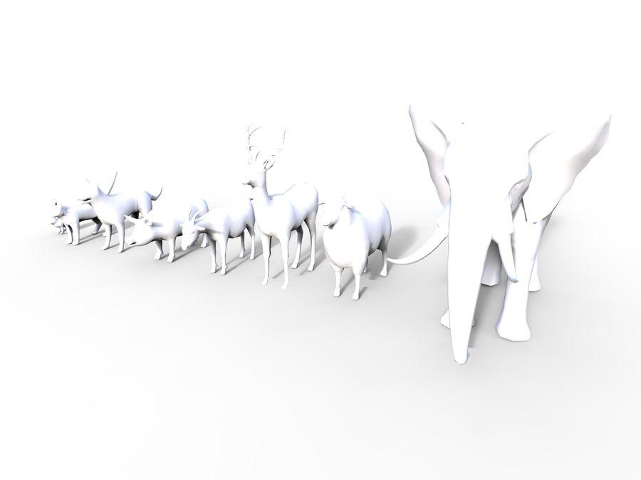 動物コレクション royalty-free 3d model - Preview no. 14