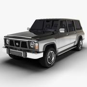 1987 Nissan Patrol Y60 3d model