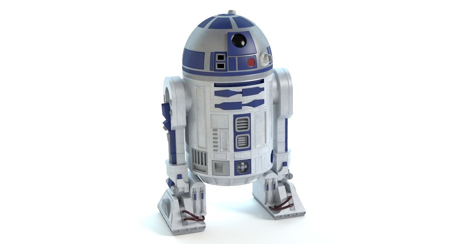 Star Wars Droids royalty-free 3d model - Preview no. 4