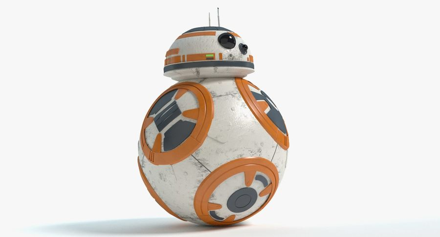 Star Wars Droids royalty-free 3d model - Preview no. 19