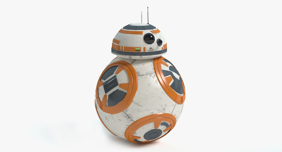 Star Wars Droids royalty-free 3d model - Preview no. 15
