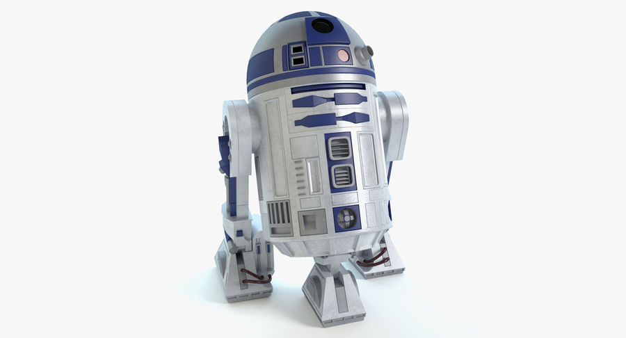 Star Wars Droids royalty-free 3d model - Preview no. 2