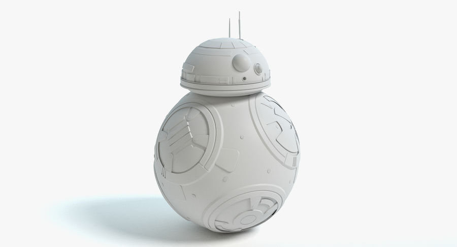 Star Wars Droids royalty-free 3d model - Preview no. 20