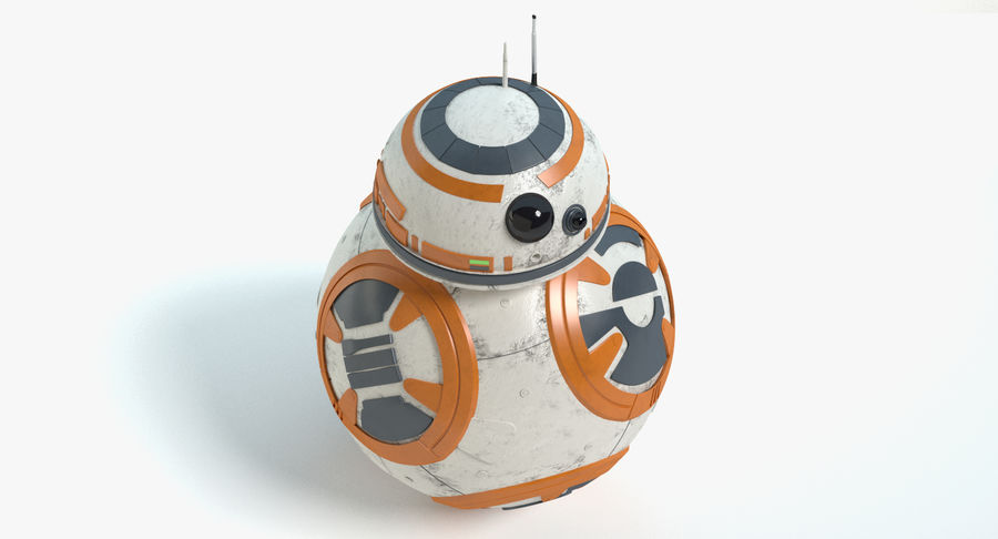 Star Wars Droids royalty-free 3d model - Preview no. 18