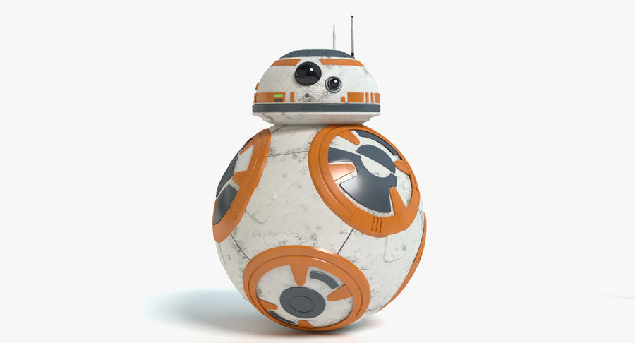 Star Wars Droids royalty-free 3d model - Preview no. 17