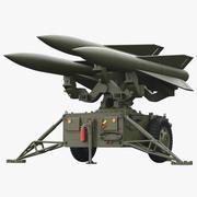 ホークミサイルランチャー 3d model
