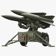 Hawk Missile Launcher 3d model