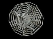 0010 8-Grid Truncated Icosahedron #Grid All (1-8) 3d model