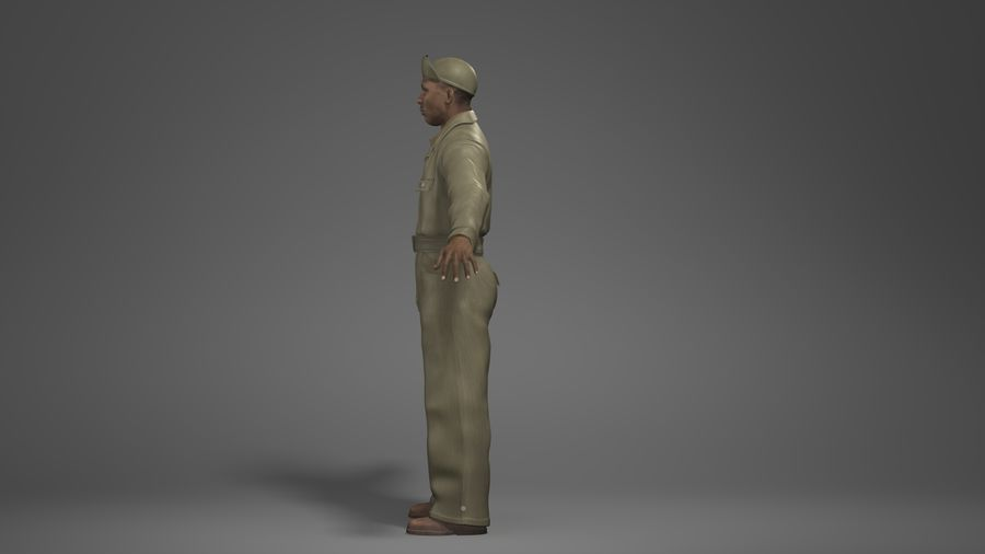 Man Character -A royalty-free 3d model - Preview no. 7