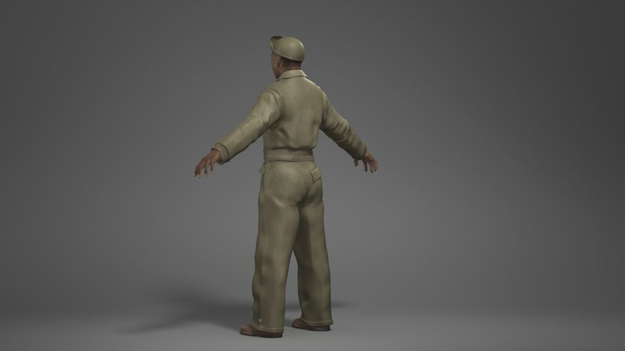 Man Character -A royalty-free 3d model - Preview no. 6