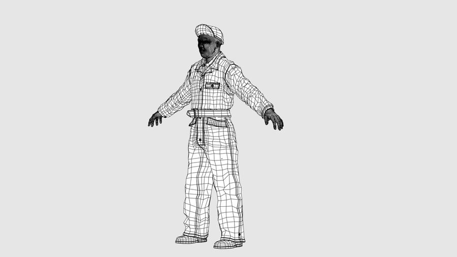 Man Character -A royalty-free 3d model - Preview no. 16