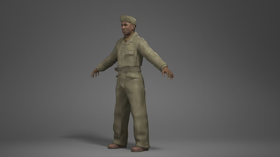 Man Character -A royalty-free 3d model - Preview no. 8