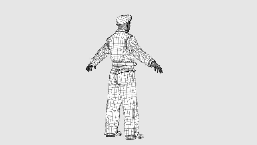Man Character -A royalty-free 3d model - Preview no. 12