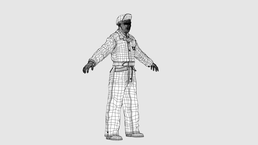 Man Character -A royalty-free 3d model - Preview no. 10