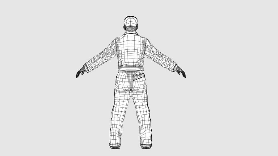 Man Character -A royalty-free 3d model - Preview no. 13