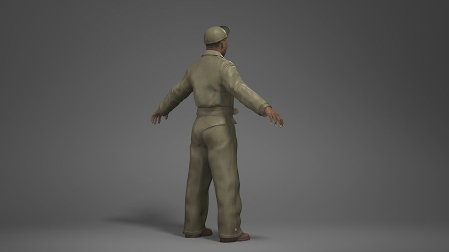 Man Character -A royalty-free 3d model - Preview no. 4