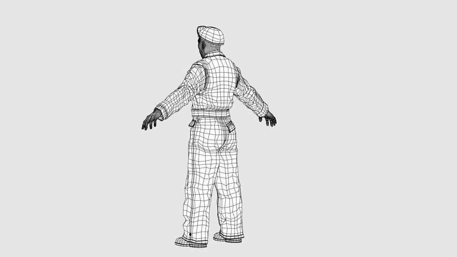 Man Character -A royalty-free 3d model - Preview no. 14