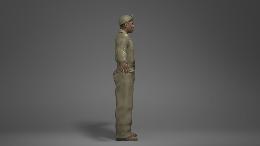 Man Character -A royalty-free 3d model - Preview no. 3
