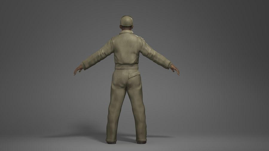 Man Character -A royalty-free 3d model - Preview no. 5