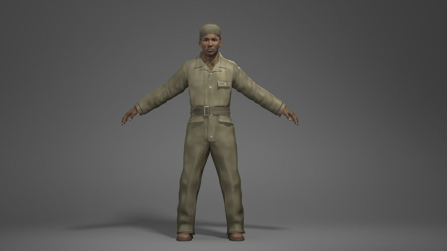 Man Character -A royalty-free 3d model - Preview no. 1