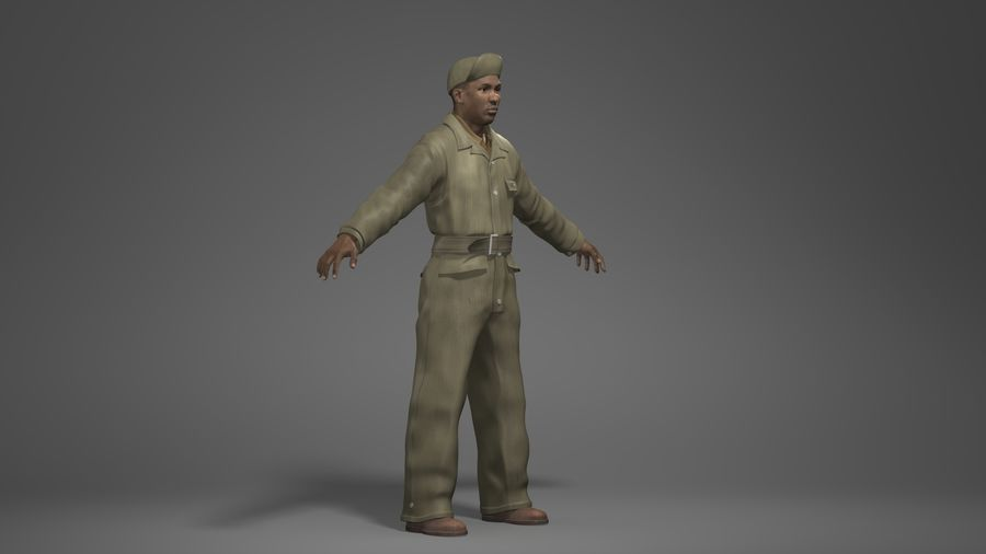 Man Character -A royalty-free 3d model - Preview no. 2