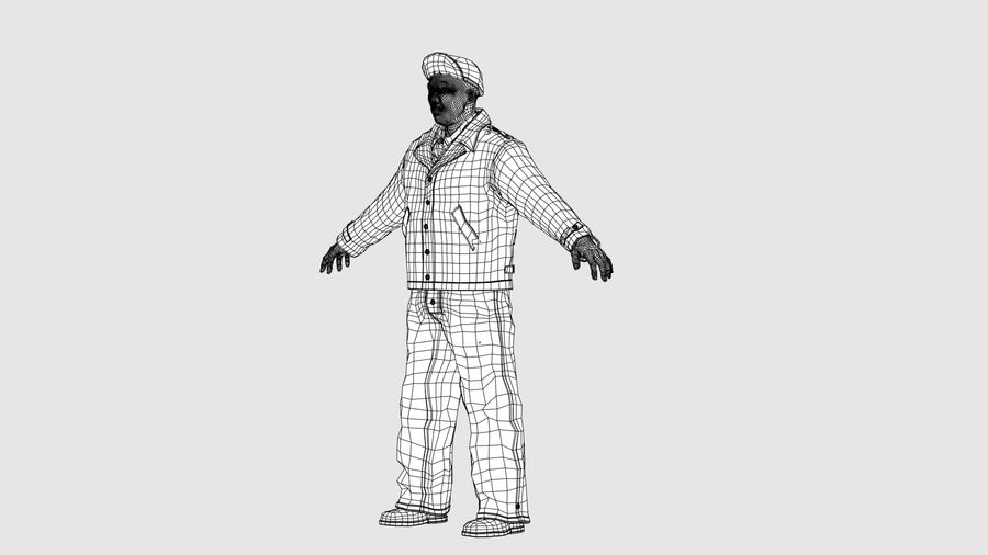 Man Character -B royalty-free 3d model - Preview no. 16