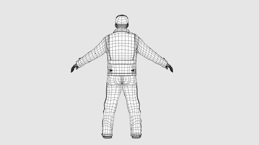 Man Character -B royalty-free 3d model - Preview no. 13
