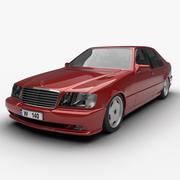 1991 Mercedes-Benz S-Class 3d model