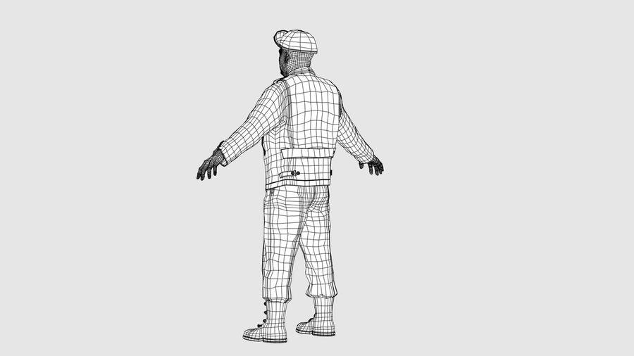 Carácter del hombre -C royalty-free modelo 3d - Preview no. 14