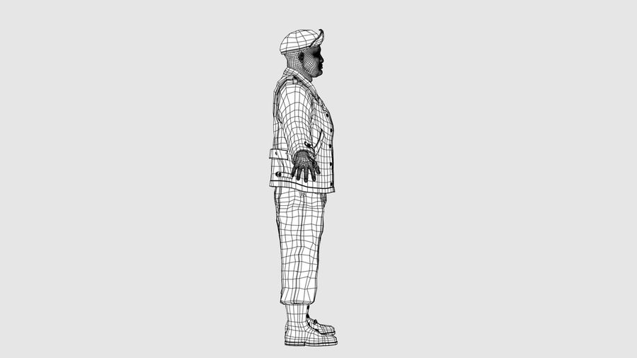 Carácter del hombre -C royalty-free modelo 3d - Preview no. 11
