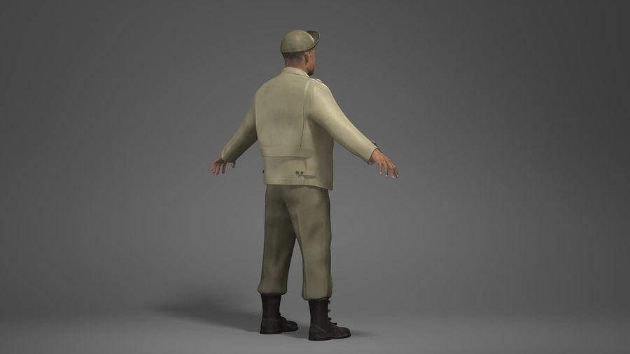 Carácter del hombre -C royalty-free modelo 3d - Preview no. 4